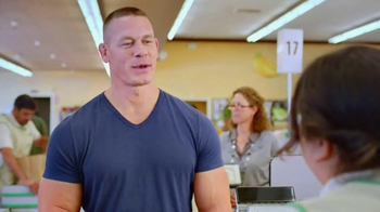 Hefty Ultra Strong Clean Burst TV Spot, 'Pec Flex' Featuring John Cena