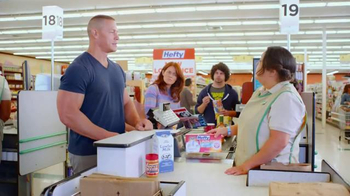 Hefty Ultra Strong Clean Burst TV Spot, 'Pec Flex' Featuring John Cena - Thumbnail 3