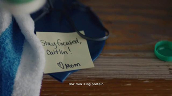 Milk Life TV Spot, 'Caitlin Leverenz Mother's Notes' - Thumbnail 6