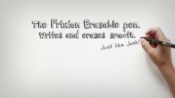 FriXion Erasable Pen TV Spot, 'Disney XD: Josh' - Thumbnail 8