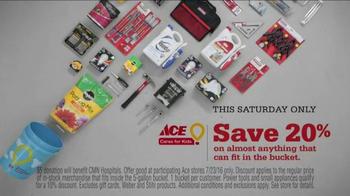ACE Hardware CMN Hospitals Bucket Sale TV Spot, 'Future Customers' - Thumbnail 8