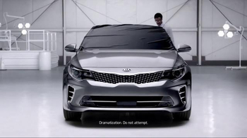2016 Kia Optima TV Spot, 'Blindfolded' - 1 commercial airings