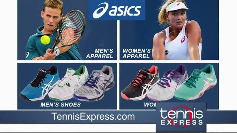 Tennis Express Tv Commercial Asics Shoes And Apparel Ispot Tv