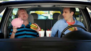 Sonic Drive-In TV Half Price Cheeseburgers TV Spot, 'Piggy Bank' - Thumbnail 8