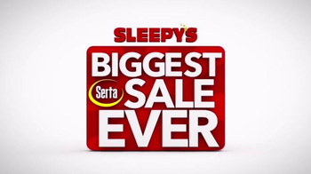 Sleepy's Biggest Serta Sale Ever TV Spot, 'Almost Over'