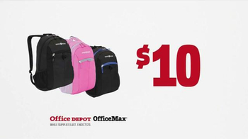 Office Depot TV Spot, 'Get Back to Studying: Backpacks' - Thumbnail 5