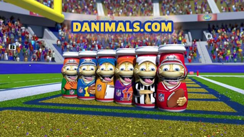 Danimals Smoothies Athlete Series TV Spot, 'Football' - 1335 commercial airings