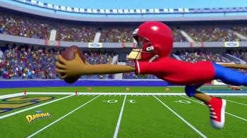 Danimals Smoothies Athlete Series TV Spot, 'Football' - Thumbnail 3