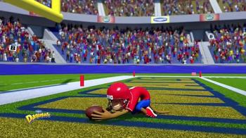 Danimals Smoothies Athlete Series TV Spot, 'Football' - Thumbnail 4