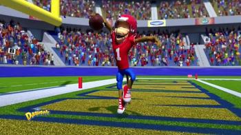 Danimals Smoothies Athlete Series TV Spot, 'Football' - Thumbnail 5
