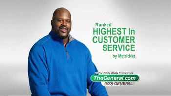 The General TV Spot, 'Affordable' Featuring Shaquille O'Neal - 21452 commercial airings