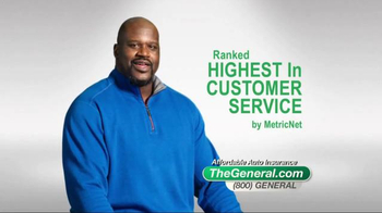 The General TV Spot, 'Affordable' Featuring Shaquille O'Neal