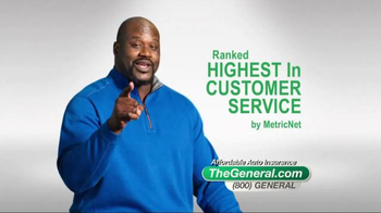 The General TV Spot, 'Affordable' Featuring Shaquille O'Neal - Thumbnail 2