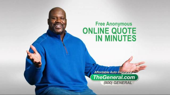 The General TV Spot, 'Affordable' Featuring Shaquille O'Neal - Thumbnail 7