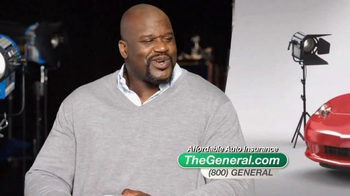 The General TV Spot, 'Insured' Featuring Shaquille O'Neal - Thumbnail 3