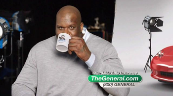 The General TV Spot, 'Insured' Featuring Shaquille O'Neal - Thumbnail 4