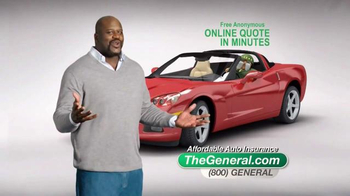 The General TV Spot, 'Insured' Featuring Shaquille O'Neal - Thumbnail 9