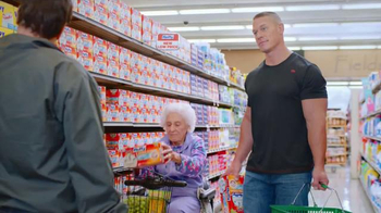 Hefty Ultra Strong TV Spot, 'Hefty/Wimpy' Feat. John Cena, Rob Schneider - 1870 commercial airings