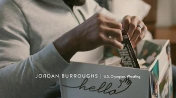 Hershey\'s TV Spot,\'Hello From Home: U.S. Olympic Wrestler Jordan Burroughs\'