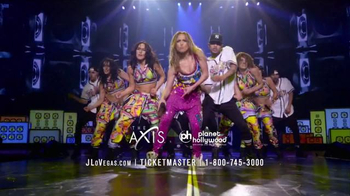 Planet Hollywood TV Spot, 'Jennifer Lopez: All I Have'