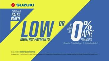 Suzuki Summer Sales Blast TV Spot, 'Wide Open Weekends' - Thumbnail 6