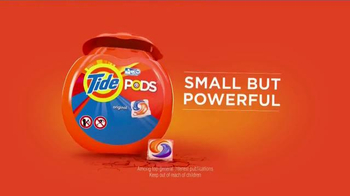 Tide Pods TV Spot, 'Small but Powerful' Featuring Simone Biles - Thumbnail 7