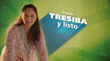 Tresiba TV Spot, 'Tresiba y listo: Paula' [Spanish] - 225 commercial airings