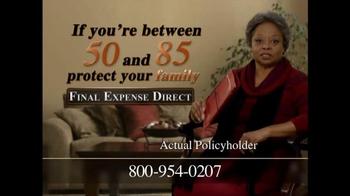 Final Expense Direct TV Spot, 'Financial Burden' - Thumbnail 3