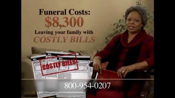 Final Expense Direct TV Spot, 'Financial Burden' - Thumbnail 4