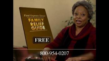 Final Expense Direct TV Spot, 'Financial Burden' - Thumbnail 6