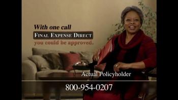 Final Expense Direct TV Spot, 'Financial Burden' - Thumbnail 9
