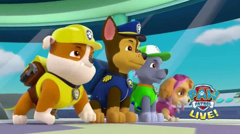 Paw Patrol Live! TV Spot, '2016 Race to the Rescue'