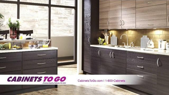 Cabinets To Go Get Ready for the Holiday Sale TV Spot, 'Top Quality' - 7 commercial airings