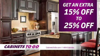 Cabinets To Go Get Ready for the Holiday Sale TV Spot, 'Top Quality' - Thumbnail 6