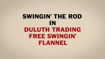 Duluth Trading Company Free Swingin' Flannel TV Spot, 'Let Freedom Swing' - Thumbnail 4