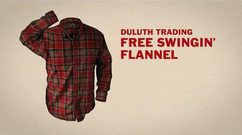 Duluth Trading Company Free Swingin' Flannel TV Spot, 'Let Freedom Swing' - Thumbnail 8