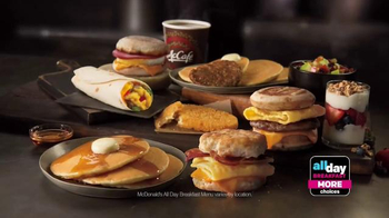 McDonald's All Day Breakfast TV Spot, 'More of What You Love' - Thumbnail 7