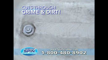 Hurricane Spin Scrubber TV Spot, 'Terrifying Soap Scum' - Thumbnail 3