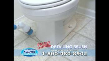 Hurricane Spin Scrubber TV Spot, 'Terrifying Soap Scum' - Thumbnail 7