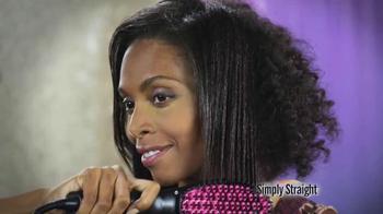 Simply Straight TV Spot, 'Straighten Your Hair Easy'