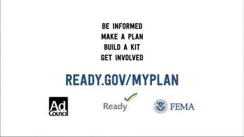 Ready.gov TV Spot, 'Be Informed' - Thumbnail 10