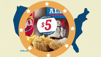 Dairy Queen $5 Buck Lunch TV Spot, 'All Day Long'