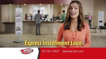 Speedy Cash Express Installment Loan TV Spot, 'More Cash'