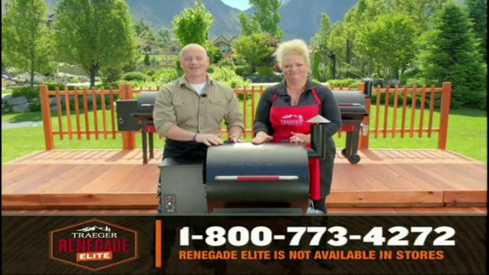 Traeger Renegade Elite TV Commercial, 'Your Grill Will Do ...