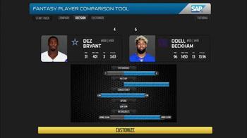 SAP Player Comparison Tool TV Spot, 'NFL Top Fantasy Defense' - Thumbnail 8