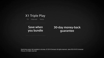 XFINITY X1 Triple Play TV Spot, 'Simple' Featuring Chris Hardwick - Thumbnail 10