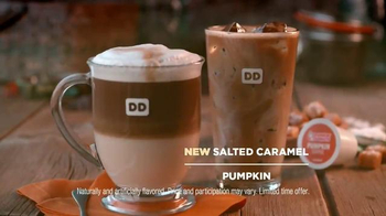 Dunkin' Donuts Salted Caramel Macchiato TV Spot, 'Cozy Up for Fall' - Thumbnail 5