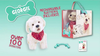 Georgie Interactive Puppy TV Spot, 'Just Like a Real Pup' - Thumbnail 8