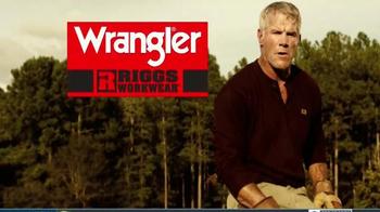 Wrangler Riggs Workwear TV Spot, 'Brett Favre Knows Hard Work' - Thumbnail 10
