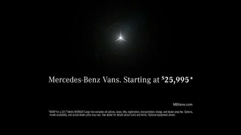 Mercedes-Benz Vans TV Spot, 'Strictly Professionals' - Thumbnail 8